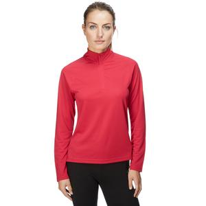 BERGHAUS Women's Active Thermal Long Sleeve Zip Neck Tee