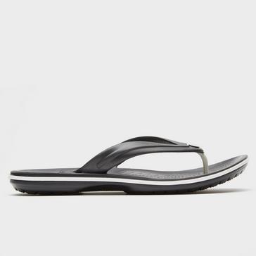 ebaef3b25d87 Black CROCS Unisex Crocband Flip-Flops