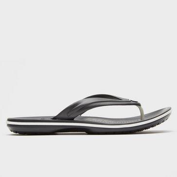 096fbbc0e Black CROCS Crocband Flip-Flops ...