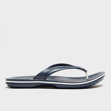 230a763fecf82 Blue CROCS Crocband Flip-Flops ...