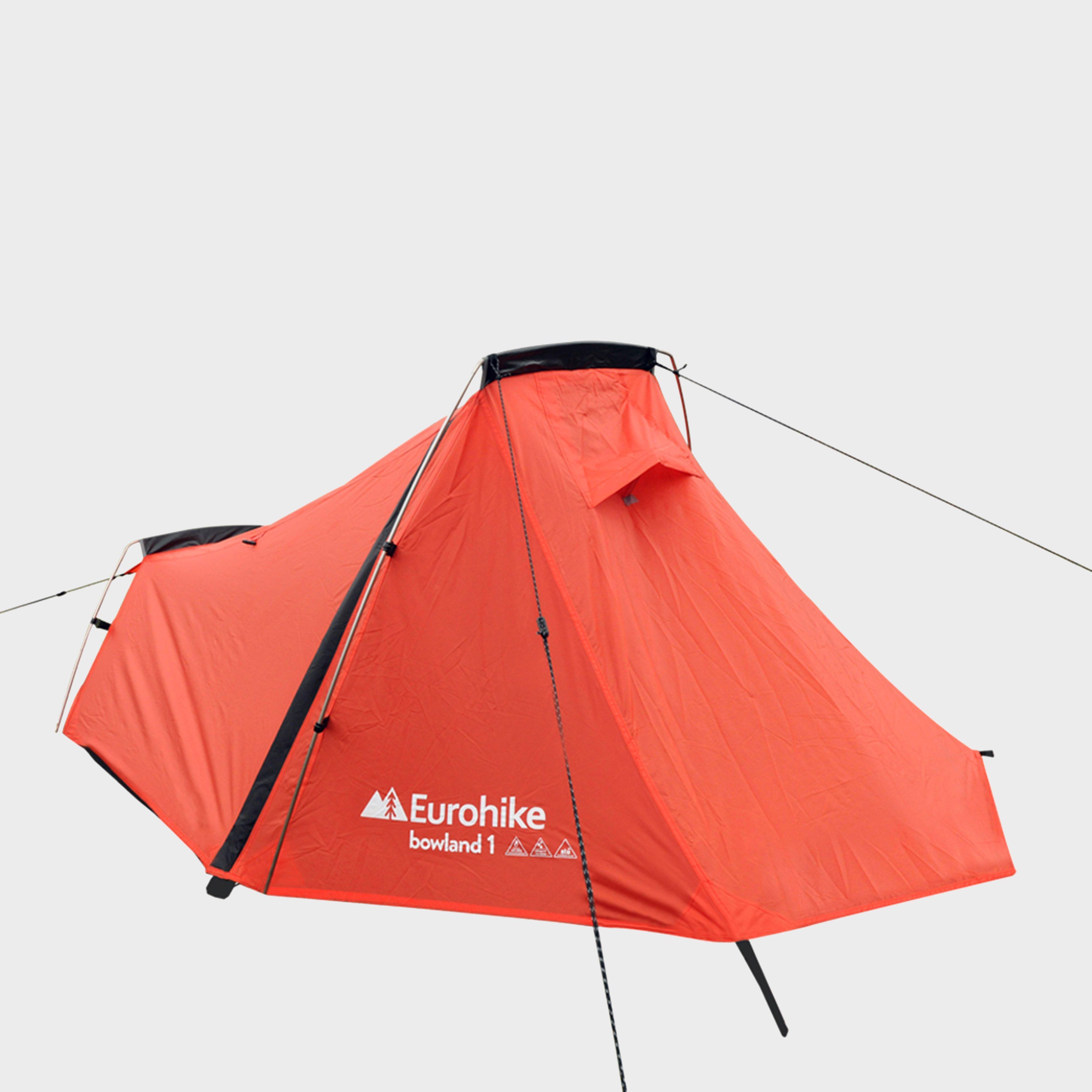 Eurohike Bowland 1 Backpacking Tent - Orange, Orange