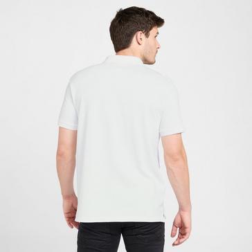 White Brasher Men's Calder Polo Shirt