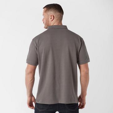 Dark Grey Brasher Men's Calder Polo Shirt