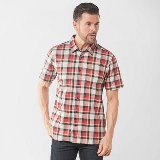 Men's Clane Slub Check Short Sleeve Shirt