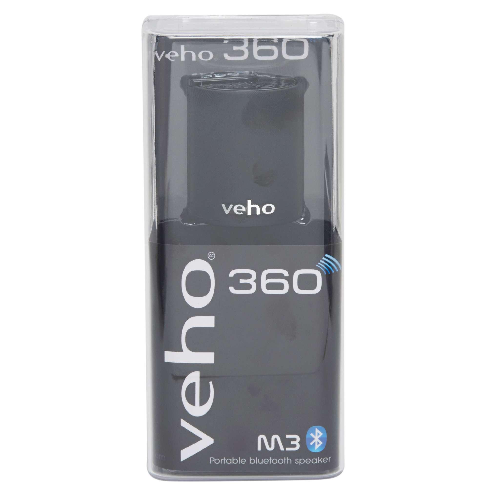 VEHO 360° M3 Portable Bluetooth Wireless Speaker