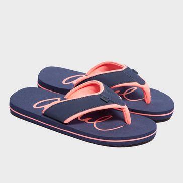 91aa4d0c8f Navy ANIMAL Women s Swish Slim Flip Flops ...