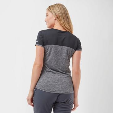 Grey Berghaus Women's Voyager Short Sleeve Tech T-Shirt