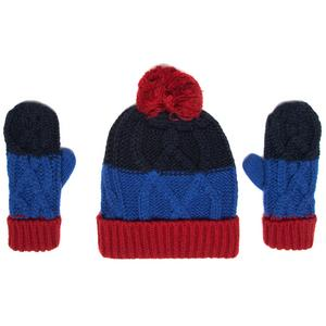 PETER STORM Boys' Hat and Glove Set