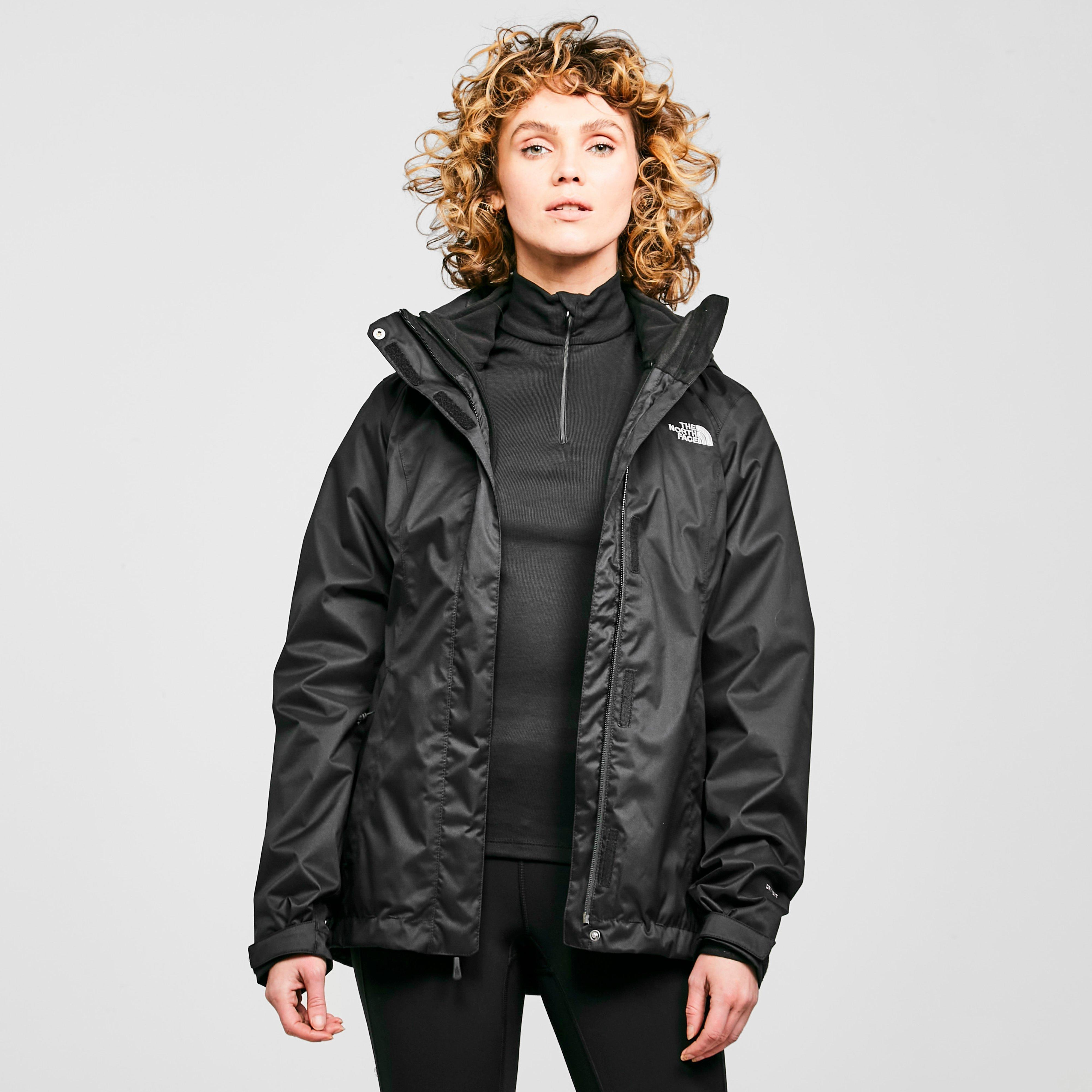 The north face womens evolution parka