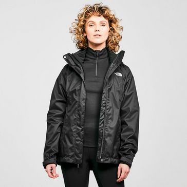 Black THE NORTH FACE Women s Evolve II Triclimate 3 in 1 Jacket ... fdec44668