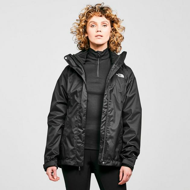 the north face women 39 s evolve ii triclimate 3 in 1 jacket. Black Bedroom Furniture Sets. Home Design Ideas