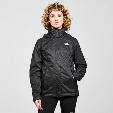 Black The North Face Women's Evolve II Triclimate® 3-in-1 HyVent™ Jacket