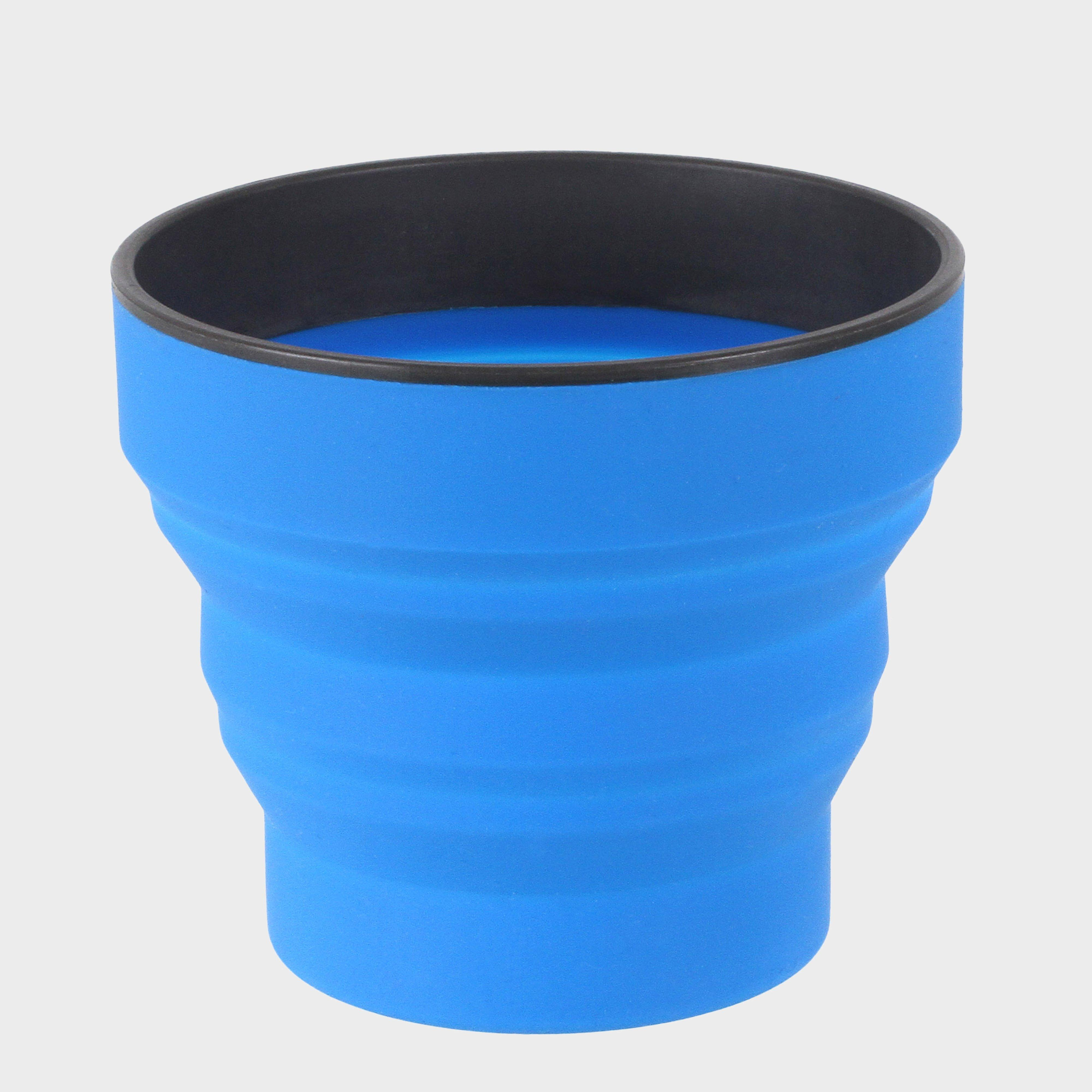 Lifeventure Lifeventure Ellipse Flexi Mug - Blue, Blue