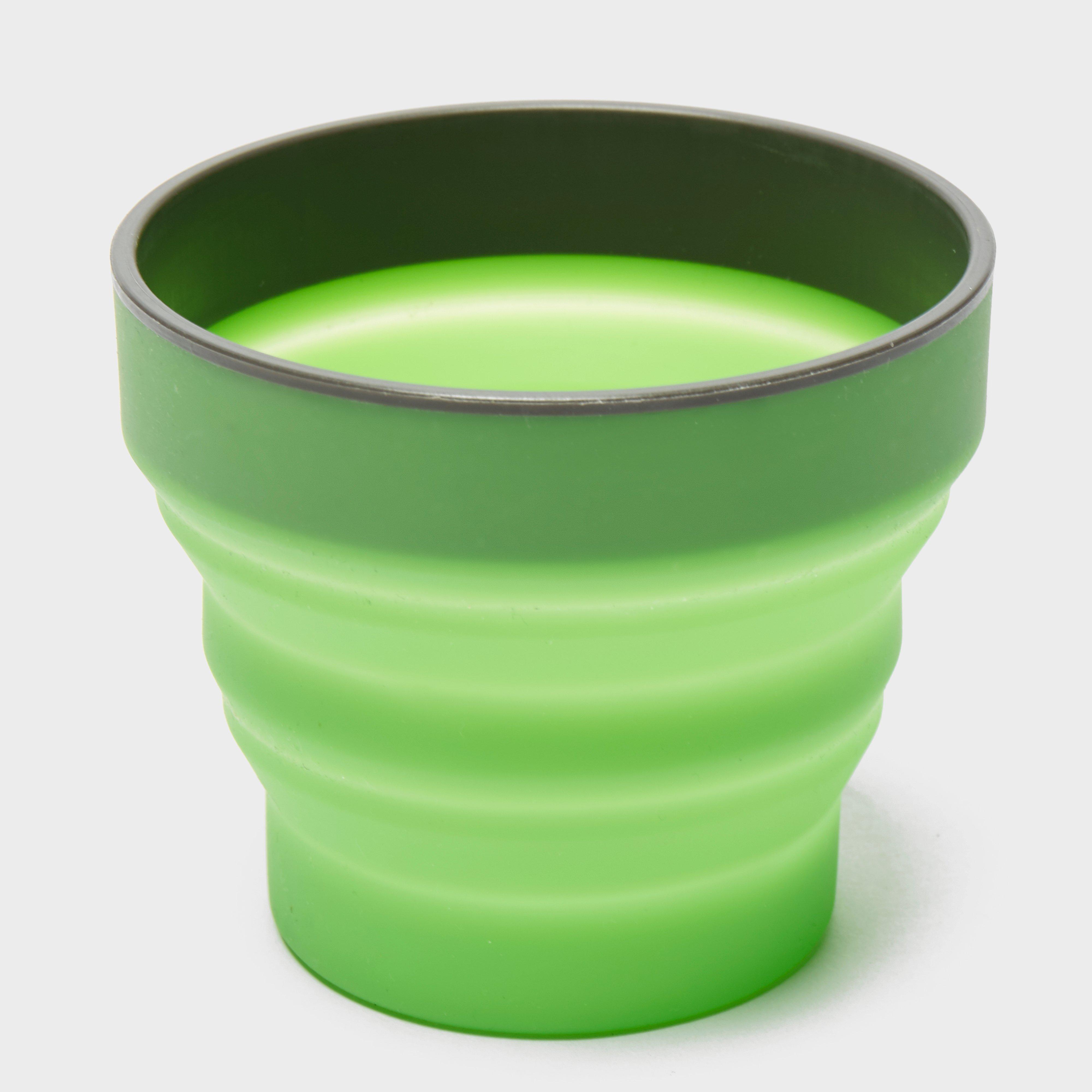 Lifeventure Lifeventure Ellipse Flexi Mug - Green, Green