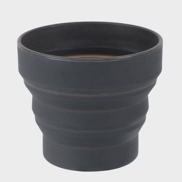 Dark Grey LIFEVENTURE Ellipse Collapsible Cup