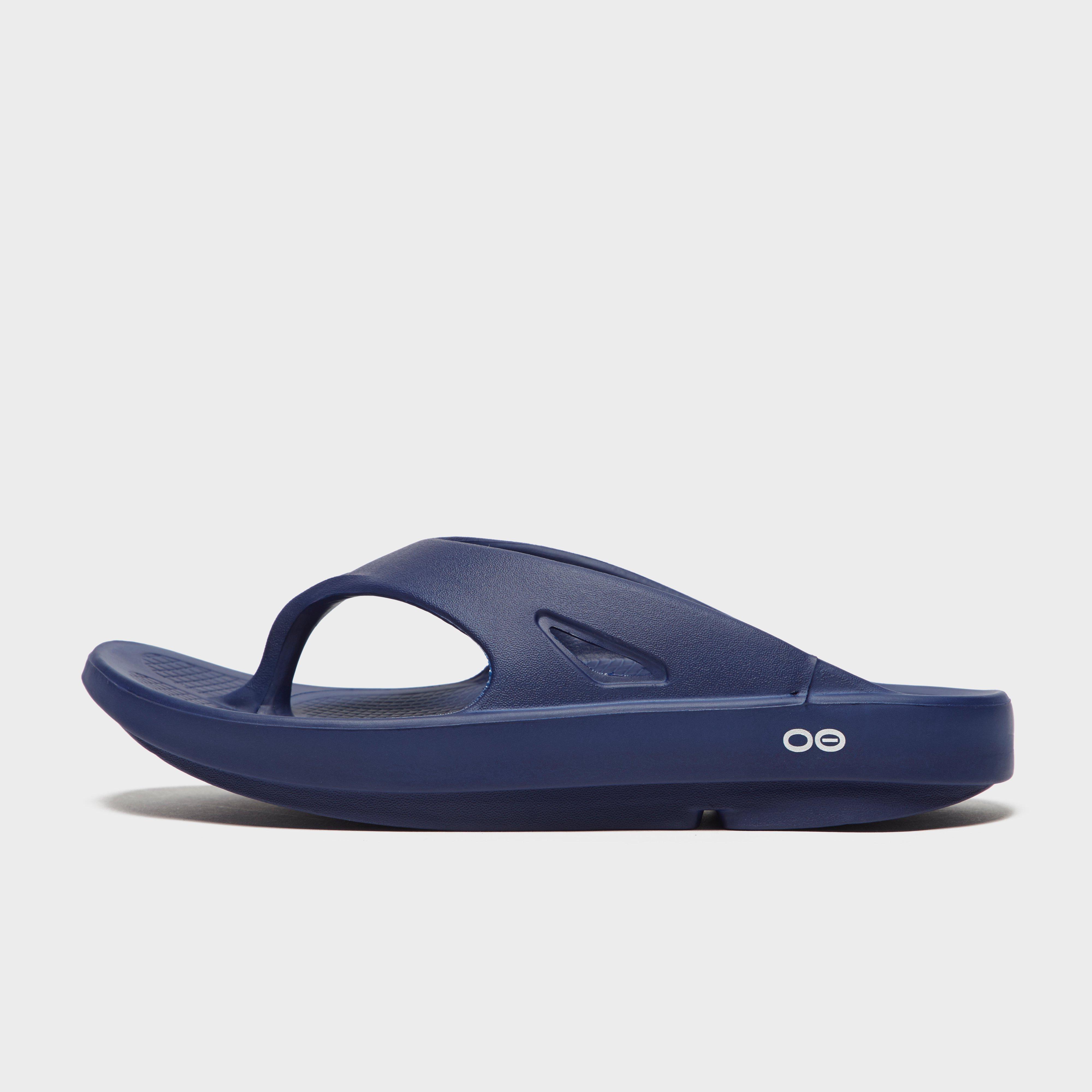 Oofos Oofos Mens OOriginal Flip Flop Sandals - Navy, Navy