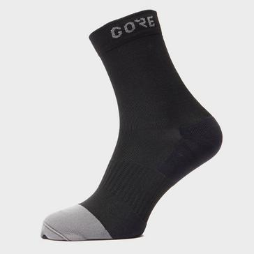 Black Gore Men's Mid Socks
