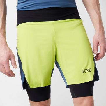 Yellow Gore Men's R7 2in1 Shorts