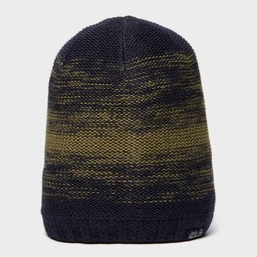 Khaki Jack Wolfskin Unisex ColourFloat Knit Beanie