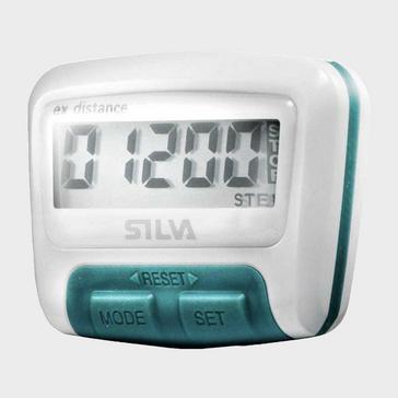 White Silva Ex Distance Pedometer