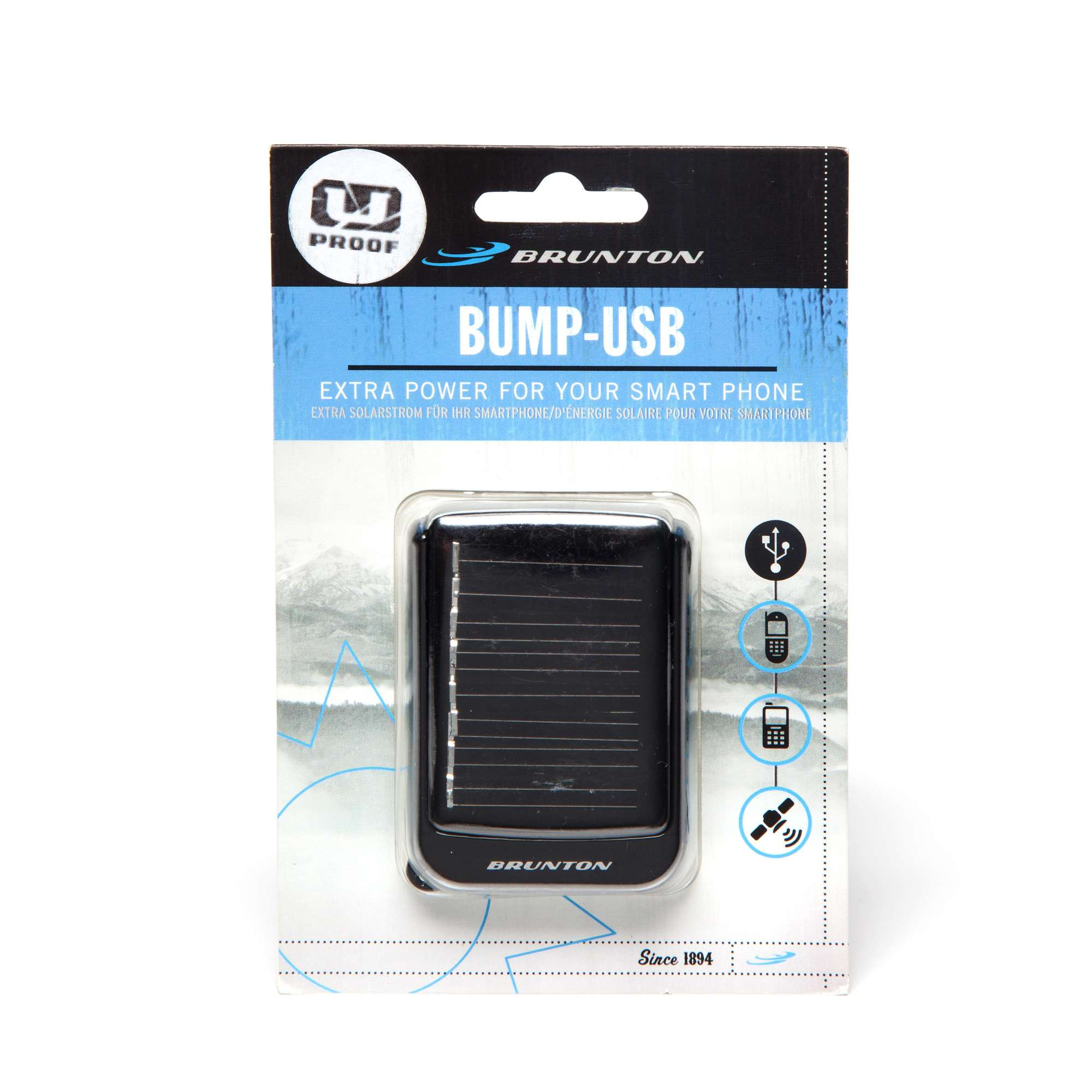 BRUNTON Bump Smartphone Solar/USB Charger