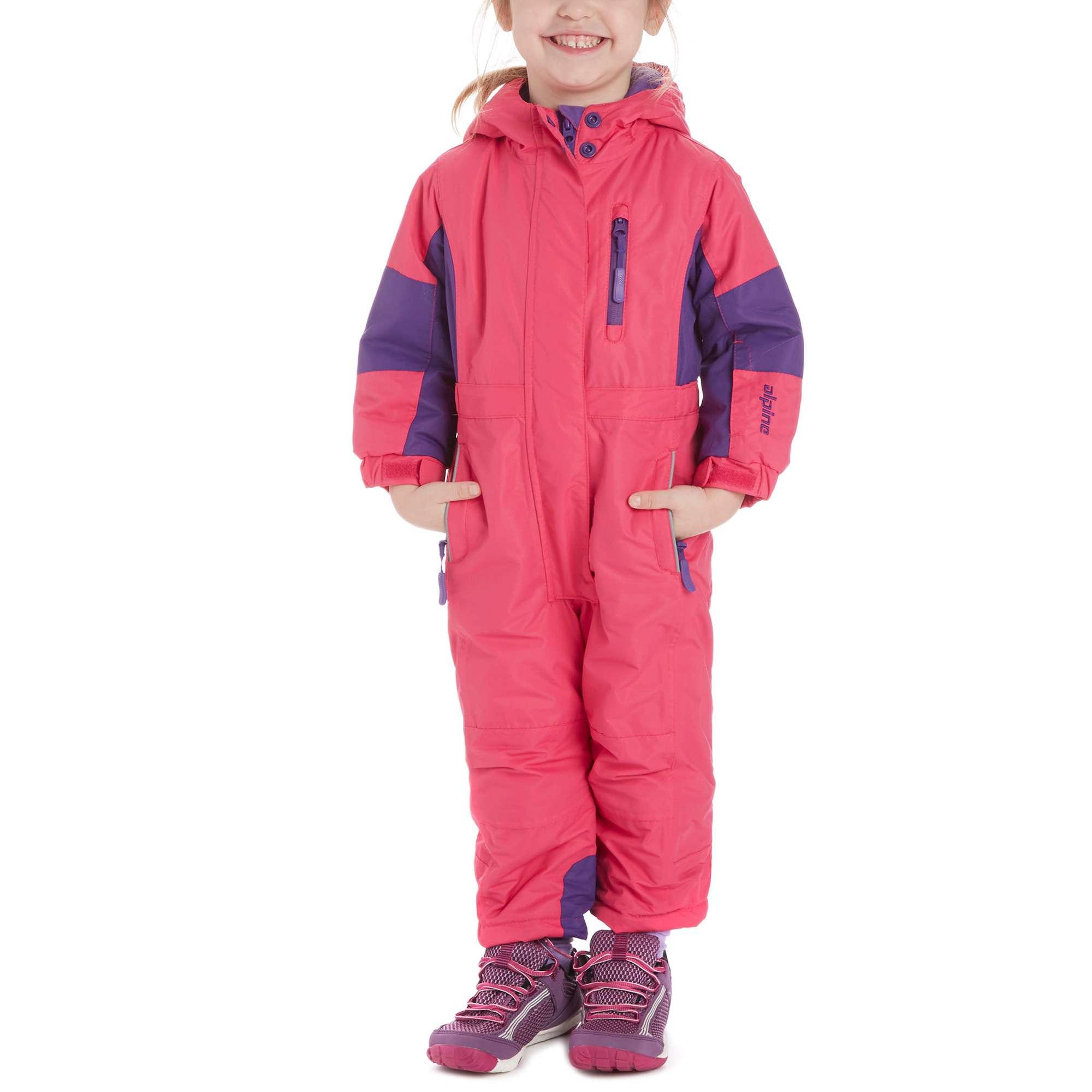 ALPINE Girls' Ski Suit