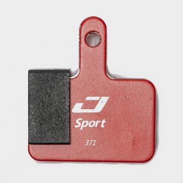 Red Jagwire Shimano Deore Mountain Sport Brake Pads