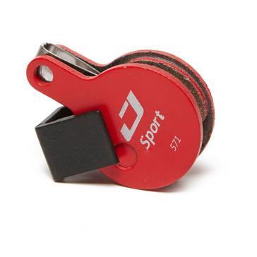 Red Jagwire Tektro Mechanical Disc Brake Pads