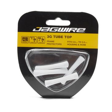 White Jagwire Tube Tops 4 Pack