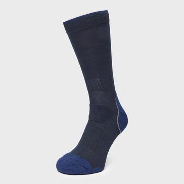 Navy Brasher Men's Light Hiker Socks