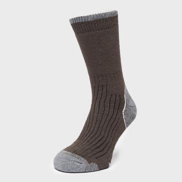 Brown Brasher Men's Hiker Socks