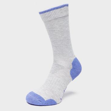 Grey|Grey Brasher Women's Light Hiker Socks