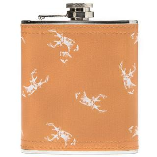 0.23L Stag Wrap Hip Flask