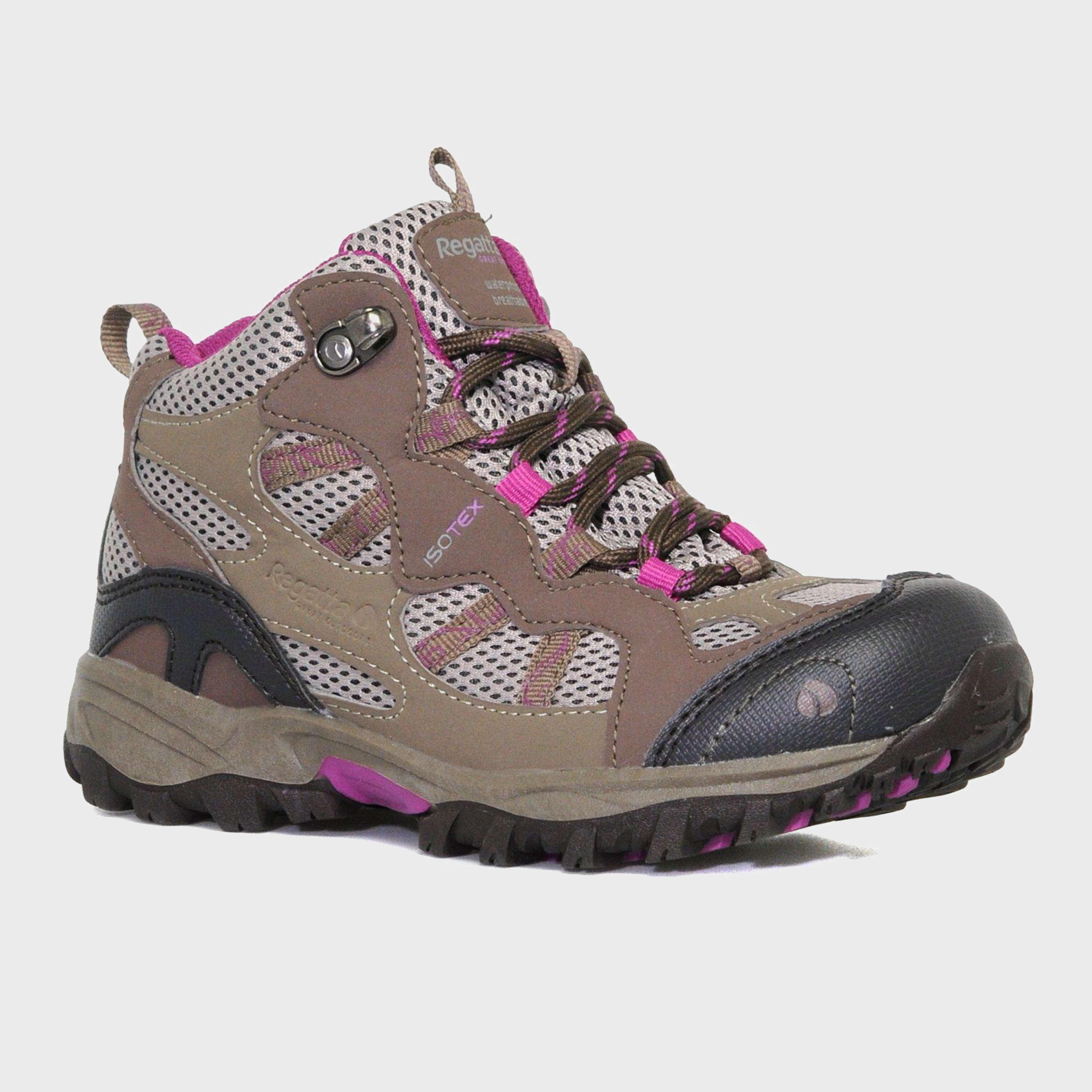 REGATTA Kids' Crossland Mid Waterproof Walking Boot