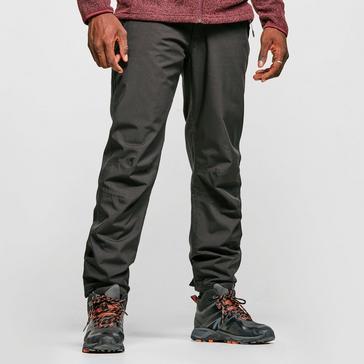 Black Craghoppers Men's Steall Waterproof Trousers