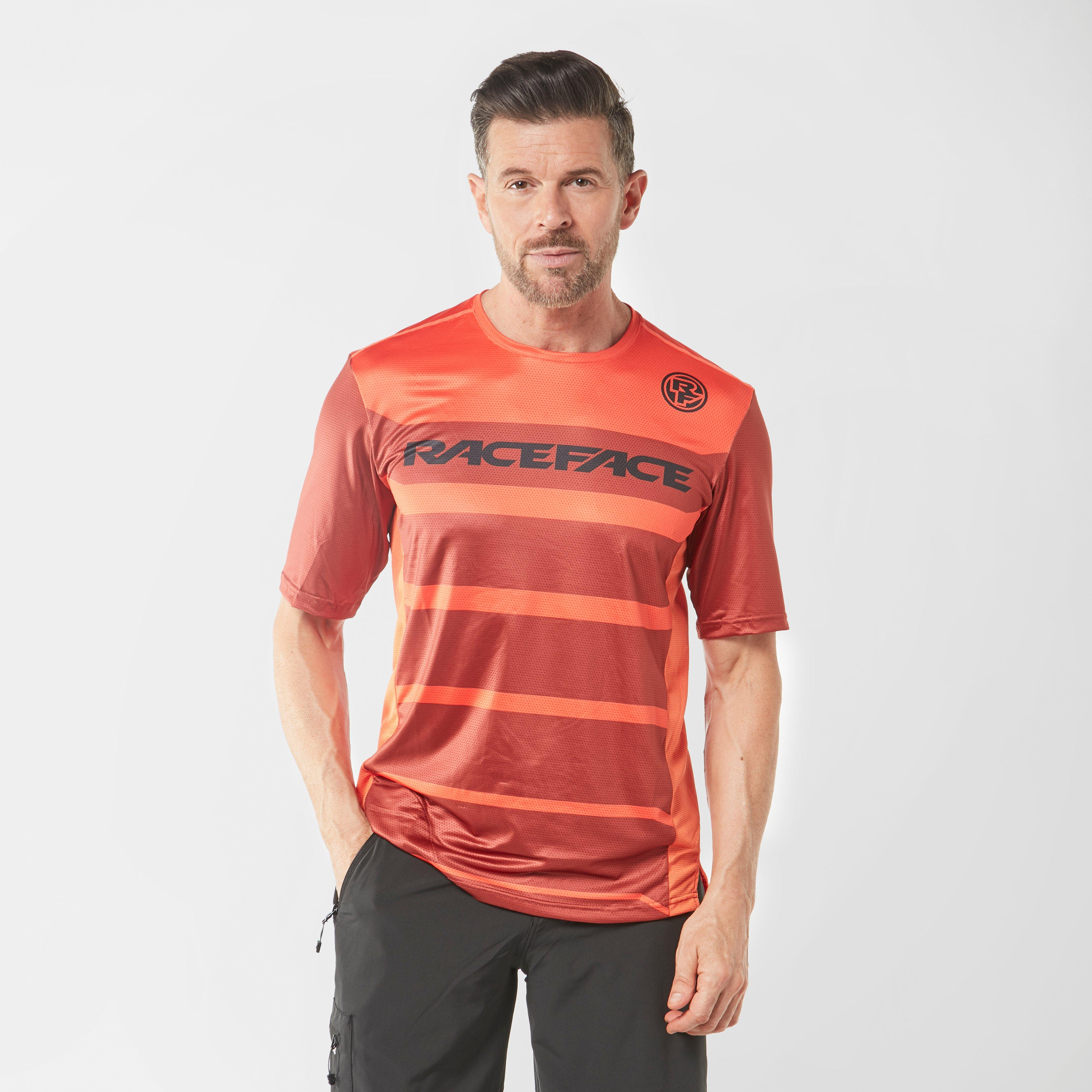 Raceface Raceface Mens Indy Short Sleeve Jersey - Red, Red