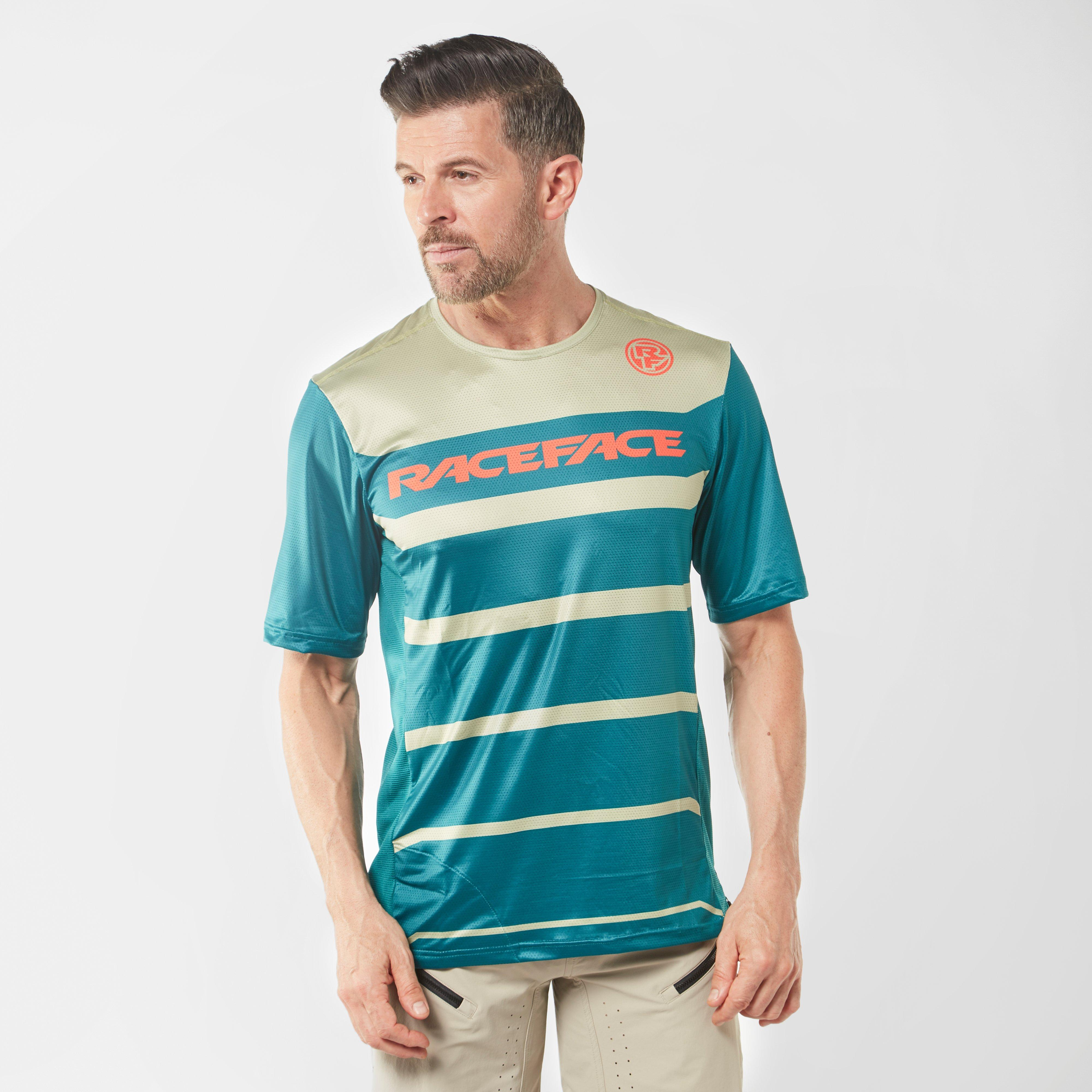 Raceface Raceface Mens Indy Short Sleeve Jersey - Green, Green