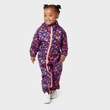 Purple Peter Storm Kids' Waterproof Suit
