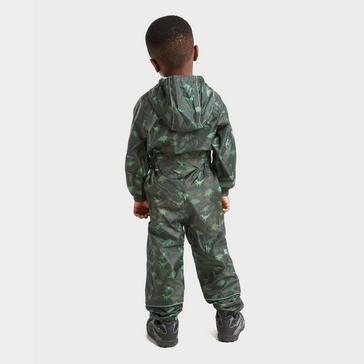 Khaki Peter Storm Kids' Waterproof Suit
