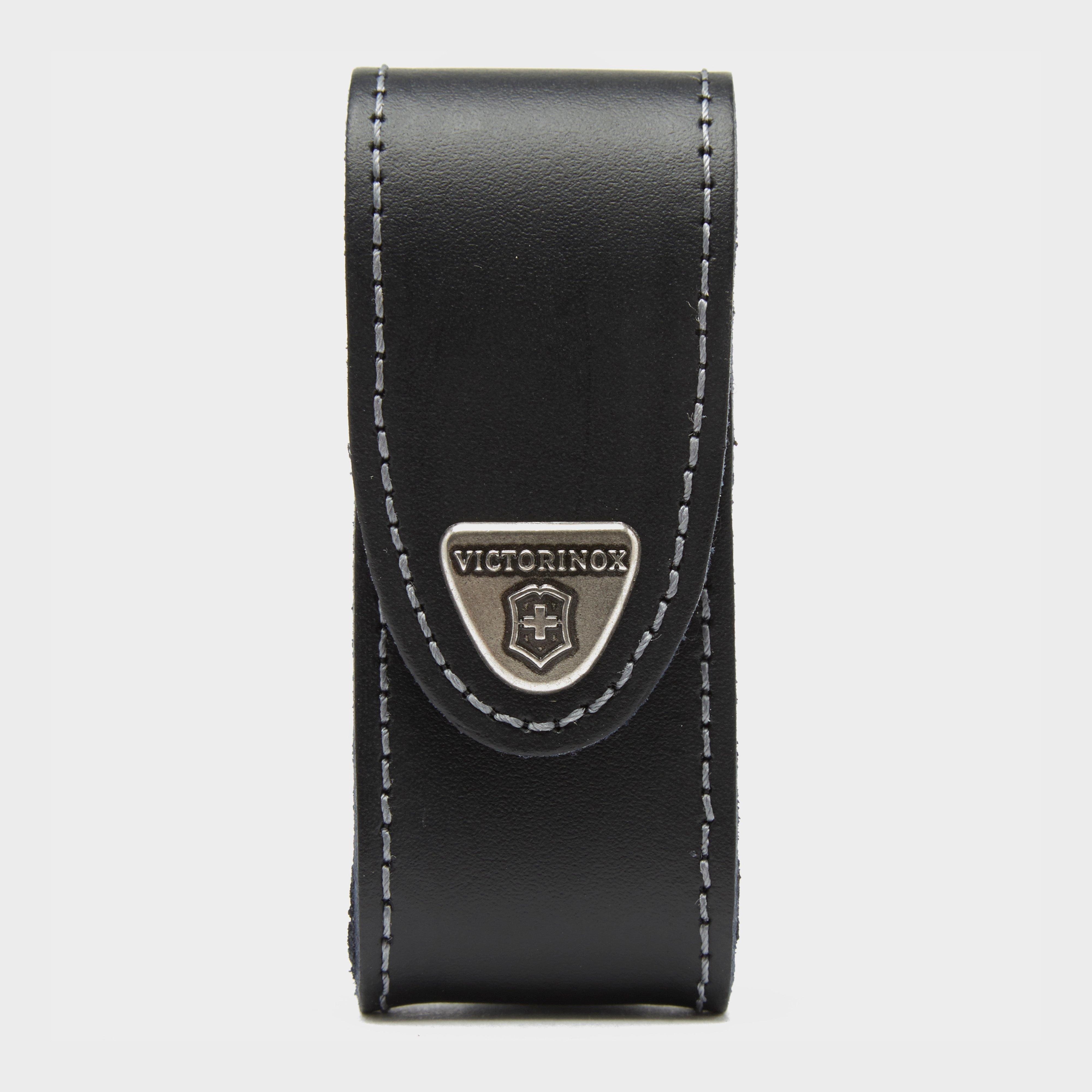 Victorinox Victorinox 2-4 Layer Leather Belt Pouch - Black, Black