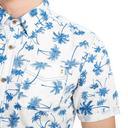 White PROTEST Men's Cooldown Short Sleeve Shirt image 3