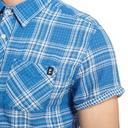 Blue PROTEST Men's Energy Short Sleeve Shirt image 3
