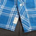 Blue PROTEST Men's Energy Short Sleeve Shirt image 4