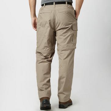 Beige Craghoppers Men's Kiwi Zip-Off Trousers