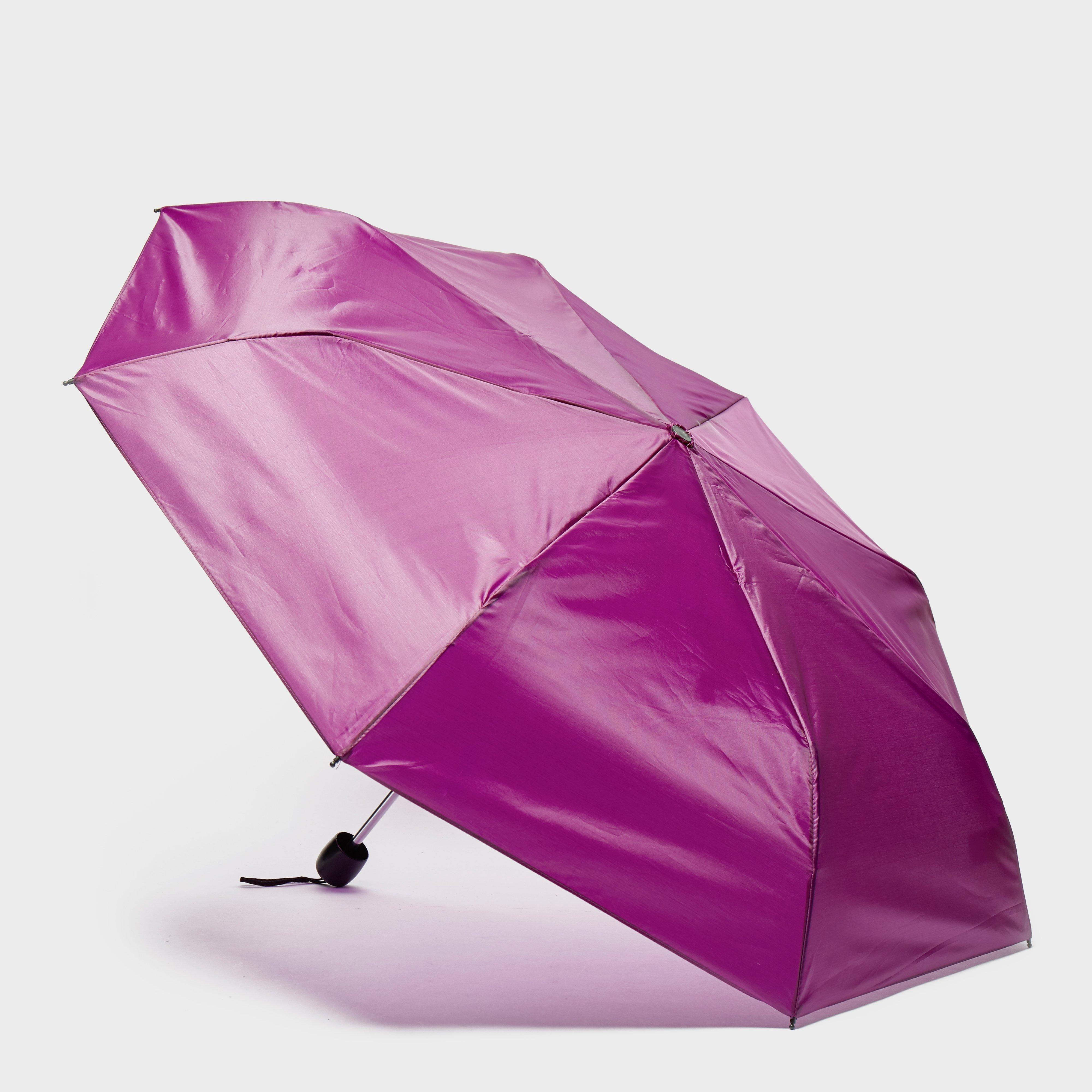 Image of Peter Storm Mini Compact Umbrella - Pink/Pup, pink/PUP