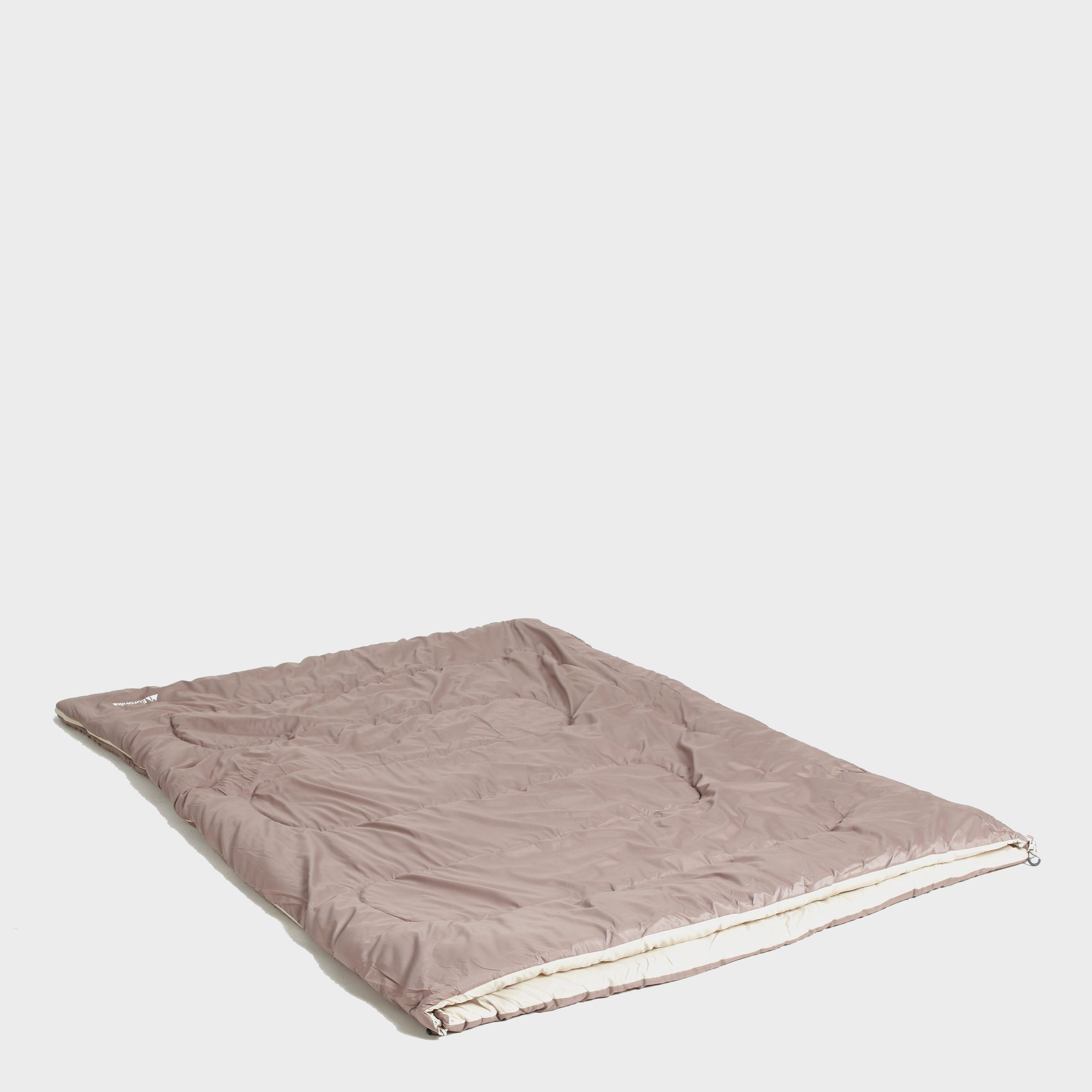 Eurohike Double Sleeping Bag, Beige