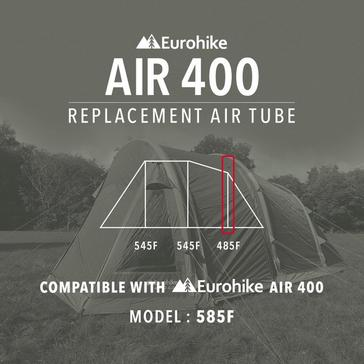 Black Eurohike Replacement 485F Air Tube