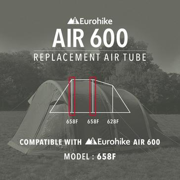 Black Eurohike Air Tube Replacement – 658F
