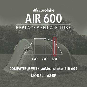 Black Eurohike Air Tube Replacement – 628F