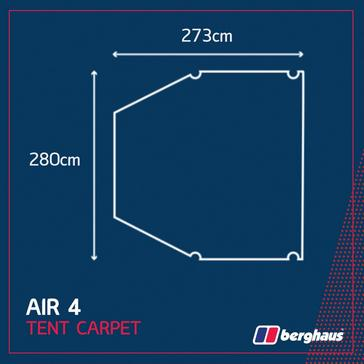 Berghaus Air 4 Tent Carpet